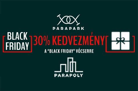 Black Friday A ParaPoly-nál!!!